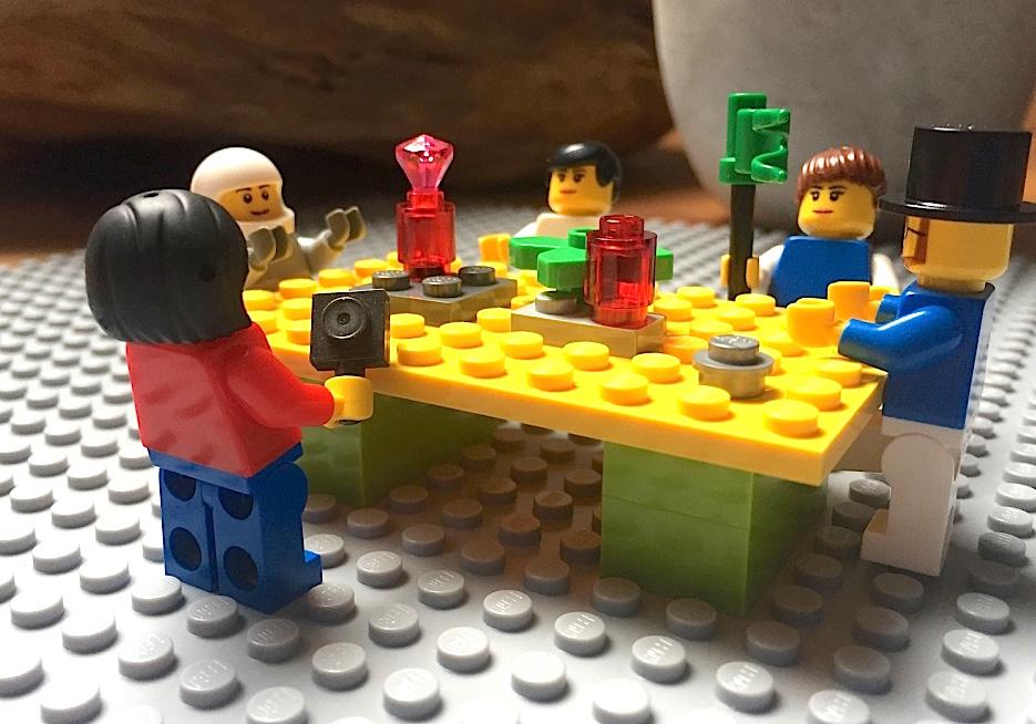 Lego® kluči sanāksmju zālē?