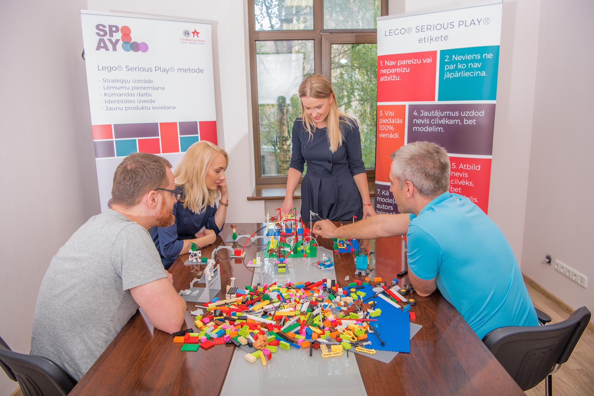 Kā metode Lego® Serious Play® var palīdzēt izprast uzņēmuma mērķauditoriju